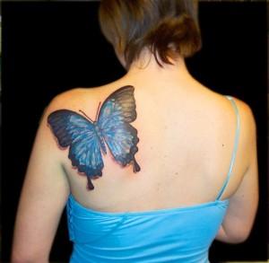 3D-Butterfly-Tattoo-for-Women