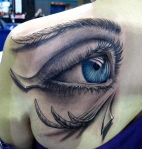 Amazing-3D-Eye-Tattoo-Design