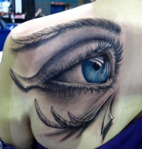 Amazing-3D-Eye-Tattoo-Design