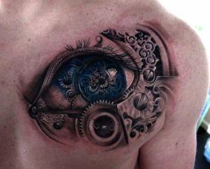 BioMechanical-3D-Tattoo