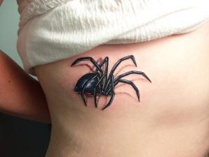 Spider-3d-tattoo-design